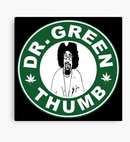 Dr. Green THumb Canvas Print