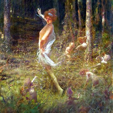 Dancing Fairies - Georges Picard  by forgottenbeauty