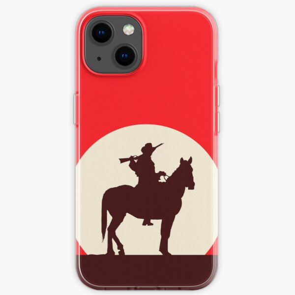 Red Style Dead iPhone Soft Case