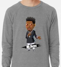 Mr. Hayes Anime Lila Leichter Pullover