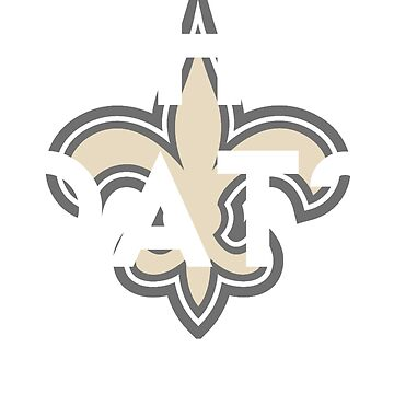 Who dat New Orleans football tee by TimShane