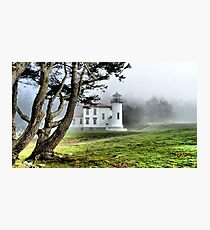 Lighthouse in the Fog Two Photographic Print