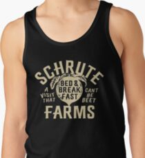 SCHRUTE FARMS - BED AND BREAKFAST Tank Top
