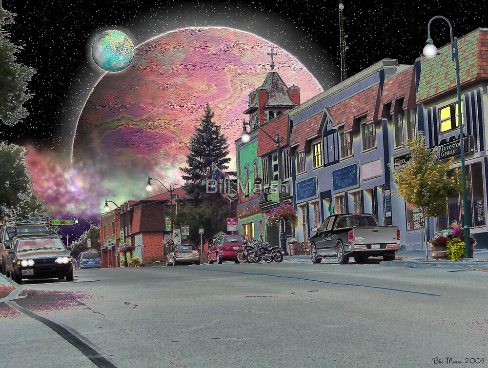 Strange Things Happen in Small Towns. by Bill Marsh