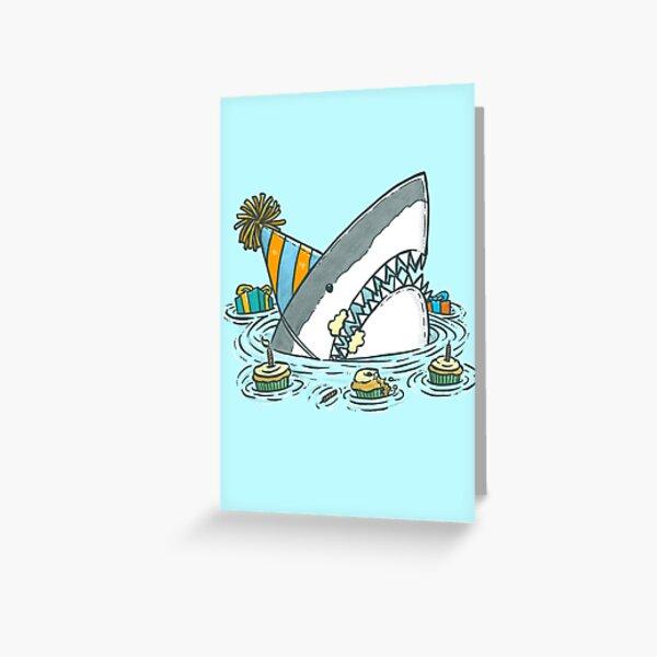 Birthday Shark II Greeting Card