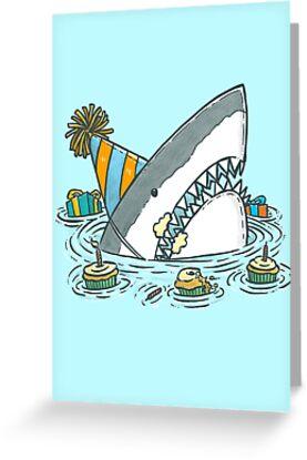 Birthday Shark II by nickv47