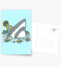 Birthday Shark II Postcards