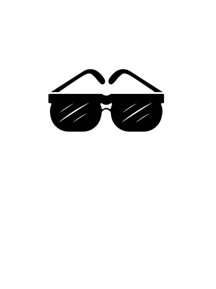 Shades Glasses sunglasses Tshirt by we1000