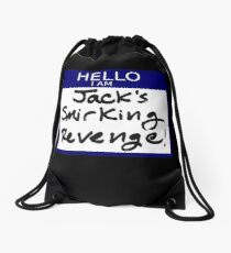 "Fight Club- ""I AM JACK'S SMIRKING REVENGE"" Drawstring Bag"