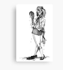 The 6th Form Undead Canvas Print
