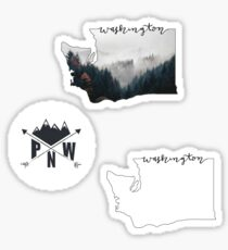 PNW Sticker Pack Sticker