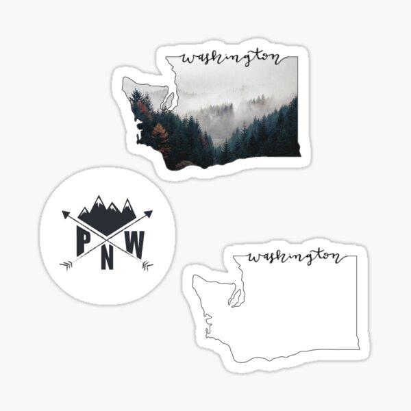 PNW Sticker Pack Sticker