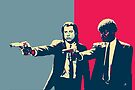Pulp Fiction Revisited - Vincent Vega and Jules Winnfield by Serge Averbukh