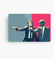 Pulp Fiction Revisited - Vincent Vega and Jules Winnfield Metal Print