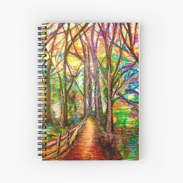 The Woods Know What They Want Spiral Notebook