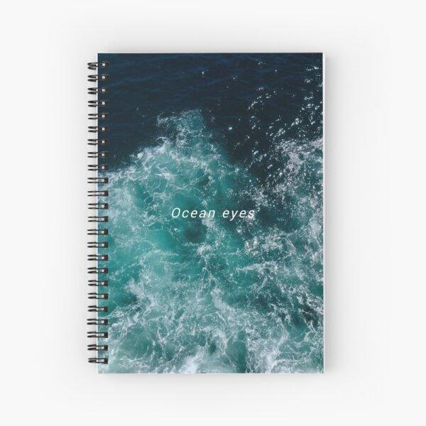 ocean eyes Spiral Notebook