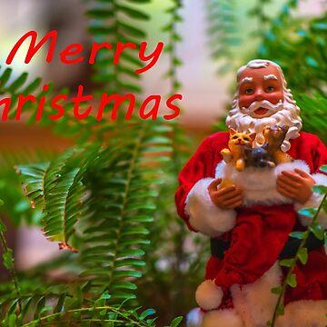 Santa Merry Christmas by JohnDSmith