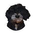 Poodle Mix by Blacklightco