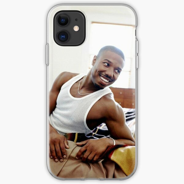 michael b jordan iPhone Soft Case