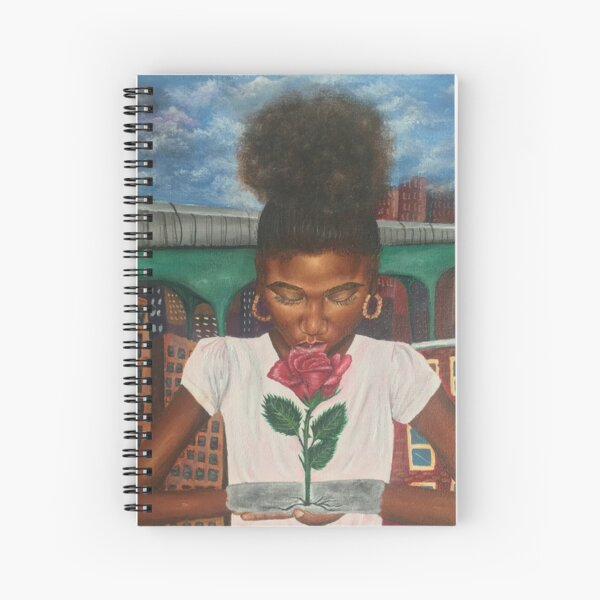 The Rose that Grew From Concrete  Spiral Notebook