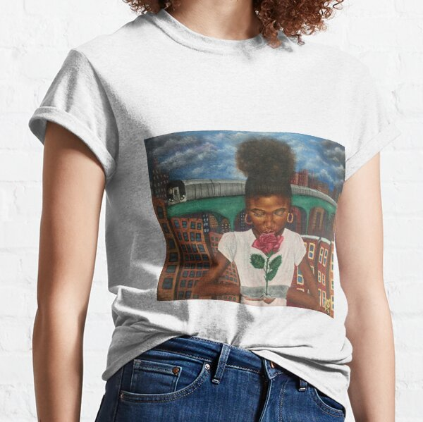 The Rose that Grew From Concrete  Classic T-Shirt