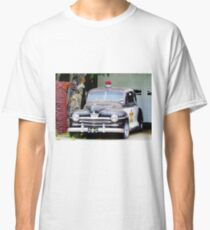 Vintage Police Car Classic T-Shirt