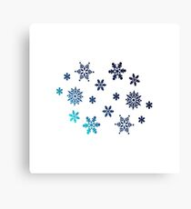Snowflake | Winter christmas gift Canvas Print