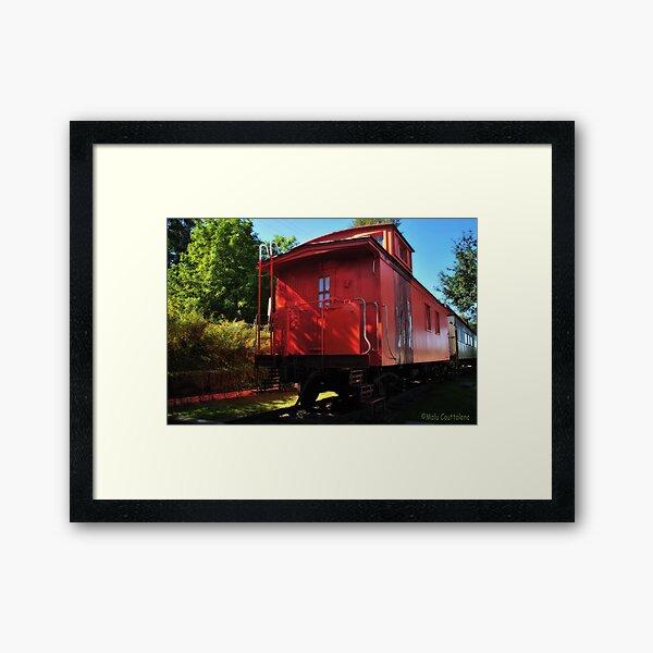 Old Train 2 Framed Art Print