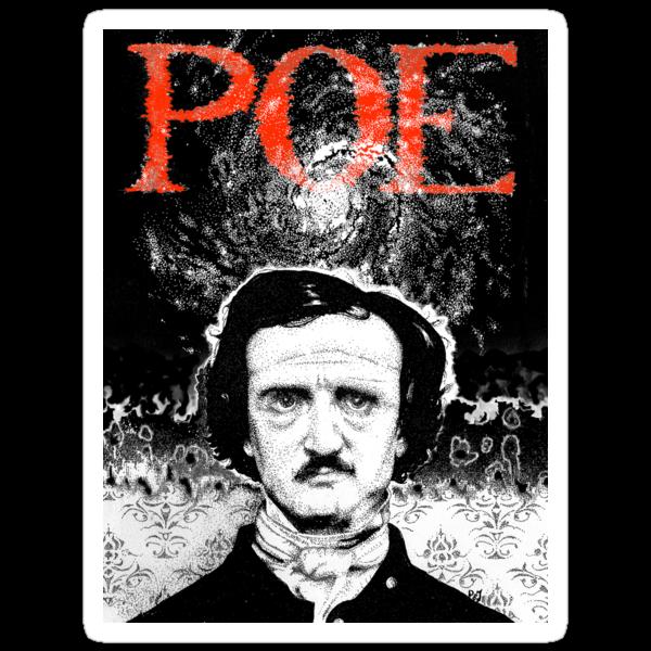 Portrait of Poe Tee by Pete Janes