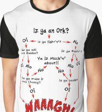 Ork Flow Chart Graphic T-Shirt