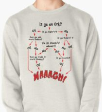 Ork Flow Chart Pullover