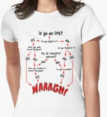 Camiseta entallada Organigrama de Ork