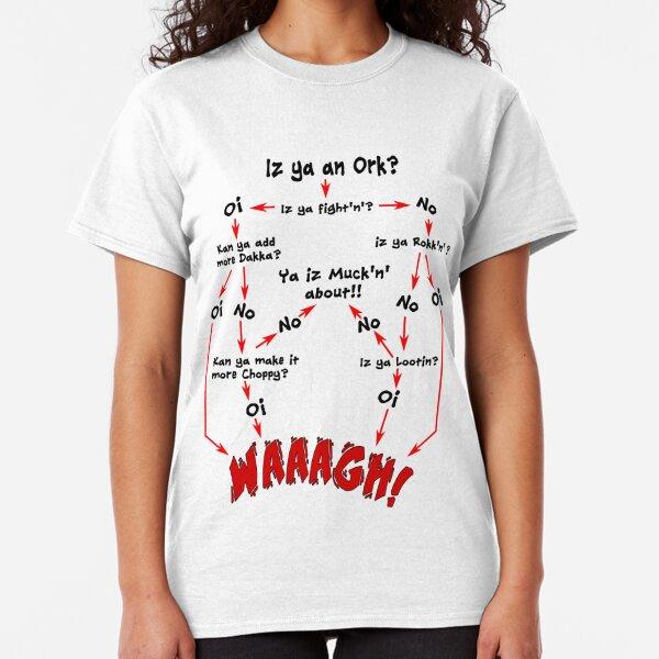Ork Flow Chart Classic T-Shirt