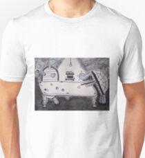 Turtles Playing Pool Unisex T-Shirt