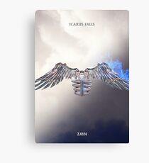 Zayn Icarus Falls Album Cover Canvas Print