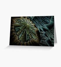 Clam Nebula Greeting Card