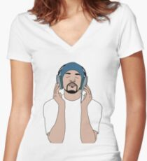 Craig David, Album Cover, Born to do it Women's Fitted V-Neck T-Shirt