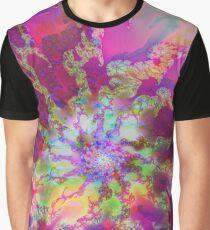 Fraktale Rosemarie Grafik T-Shirt