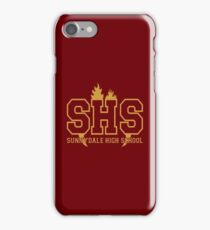 Sunnydale Highschool iPhone Case/Skin