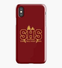 Sunnydale Highschool iPhone Case