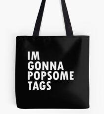 Thrift Shop Macklemore Tags Tee Tote Bag