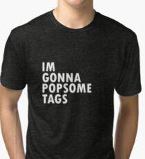 Thrift Shop Macklemore Tags Tee Tri-blend T-Shirt