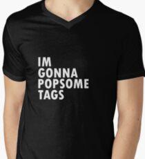 Thrift Shop Macklemore Tags Tee Men's V-Neck T-Shirt