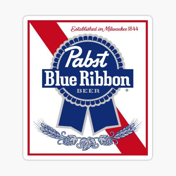 pabst blue ribbon Sticker