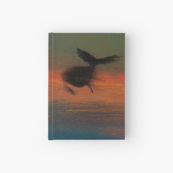 Flying Whale Hardcover Journal