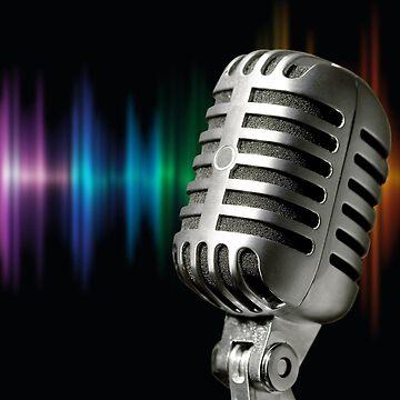 Retro Microphone by franceslewis