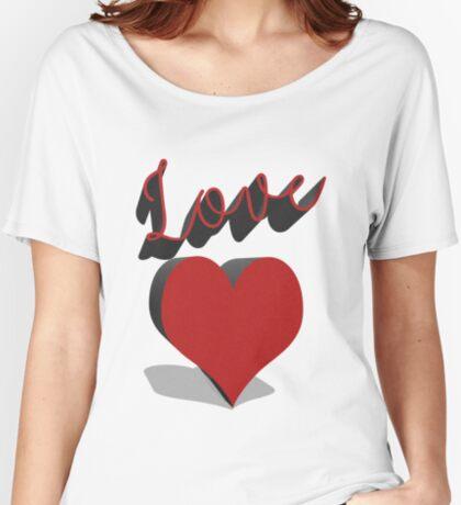 Love Women's Relaxed Fit T-Shirt