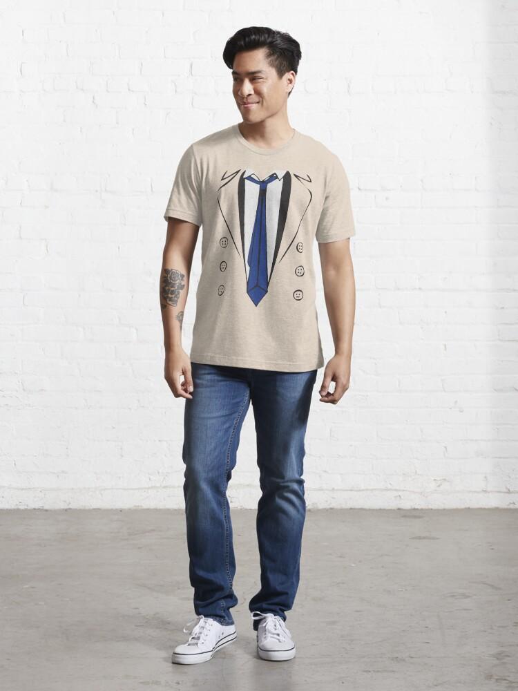 Alternate view of Castiel Trenchcoat Tee Essential T-Shirt
