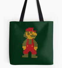 8 bit Mario 3d Vintage Style NES Tote Bag