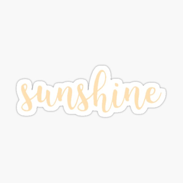 sunshine Sticker